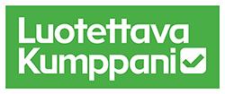 Suomen Tilaajavastuu Oy:n Luotettava kumppan -logo